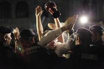Fotogalerie: Proteste, ziua 5