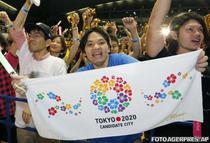 Japonezii celebreaza alegerea capitalei Tokyo drept gazda JO 2020