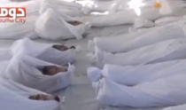Imagini cu cadavre in urma atacului chimic din Siria