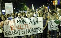 Fotogalerie: Proteste, ziua 8