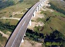 Viaductul de la Aciliu (in constructie - septembrie 2013)