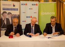 Contract incheiat in 2011 intre Cosmote, Romtelecom si BCR