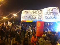 FOTOGALERIE Inca o duminica de proteste anti-Rosia Montana