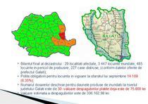 Bilantul inundatiilor din Galati