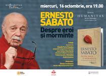 Seara dedicata scriitorului Ernesto Sabato