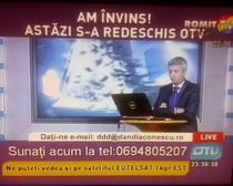 Dan Diaconescu la noul OTV