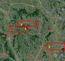 Cele trei perimetre din Vaslui pentru exploatarea Chevron