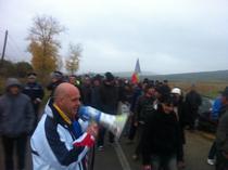 Proteste la Pungesti, luna octombrie