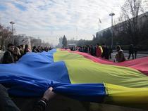 Tricolor la Chisinau 1 decembrie 2012