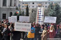Proteste ale profesorilor