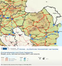 Reteaua de drumuri romanesti finantata din fonduri UE