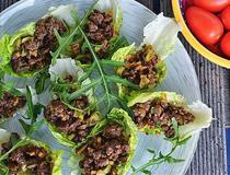 Salad wraps cu vita