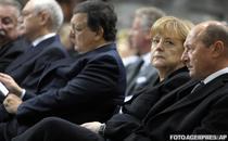 Traian Basescu, la funeraliile lui Wilfried Martens