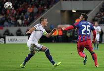 John Terry si Federico Piovaccari (25) / Steaua - Chelsea 0-4