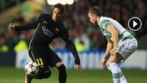 Neymar, in actiune pe Celtic Park
