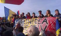 FOTOGALERIE Bucuresti: Mars pentru Basarabia (20 octombrie)
