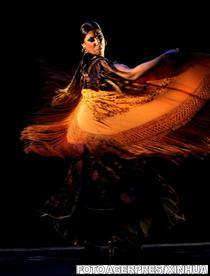 Dansatoare de flamenco de origine roma