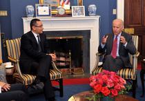 Victor Ponta si Joe Biden