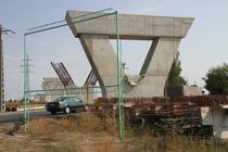 Pasaj peste calea ferata Arad_Bucuresti_1