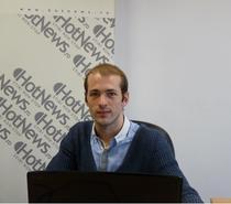 Istvan Teglas in redactia Hotnews.ro