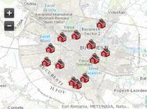 Harta celor 12 adaposturi in caz de cutremur puternic