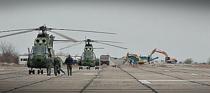 Elicoptere militare la Deveselu