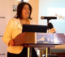 Ina Crudu, directorul general al Carpatica Asigurari