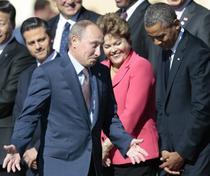 Vladimir Putin si Barack Obama, in 2013