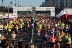 Poza finish Maratonul International Bucuresti 2013