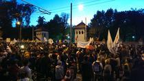 FOTOGALERIE Protest impotriva proiectului Rosia Montana, 6 octombrie