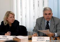 Anne Juganaru si Adrian Severin