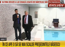 Ciutacu si Dogaru prezinta piscina din vila Dante