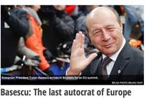 New Europe: Basescu, ultimul autocrat al Europei