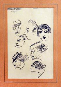 Grup de portrete, de Cezar Petrescu