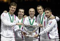 Echipa de Cupa Davis a Cehiei, invingatoare