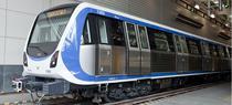 Noul metrou CAF care ruleaza in Bucuresti pe M2