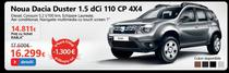 Dacia Duster, inclusa in catalogul eMAG