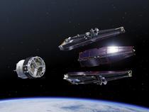 Satelitii Swarm (reprezentare artistica)