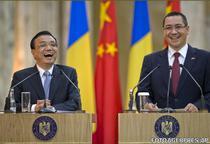 Premierii Victor Ponta si Li Keqiang la Bucuresti