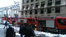 Incendiu pe Calea Victoriei