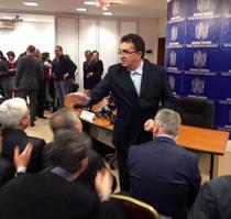 Marian Oprisan, la semnarea unor contracte cu fonduri UE