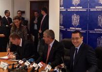 Oficial SRI, la semnarea contractului de finantare
