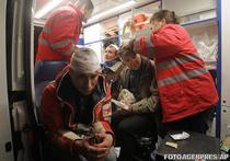 Protestatari raniti de jandarmi in Kiev