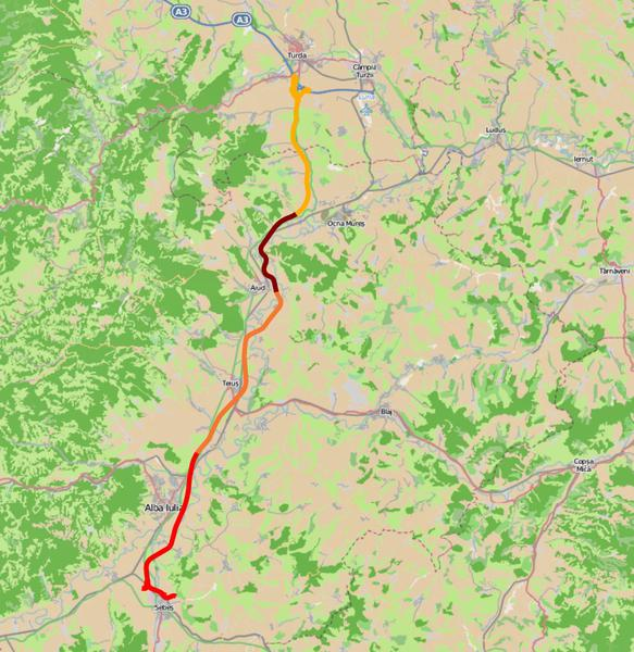 Harta Interactiva Toate Ofertele Depuse Pentru Autostrada Sebes