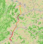 A10 Sebes - Turda (pe loturi)