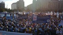 Proteste FSLI la Guvern