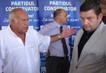 Dan Voiculescu si Bogdan Ciuca, presedintele Comisiei Juridice