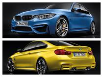 BMW M3 Sedan si BMW M4 Coupe