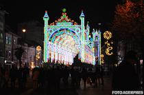 Tunel de lumini la Sibiu
