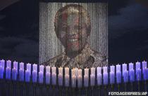 Potretul lui Mandela, la funeraliile din Qunu